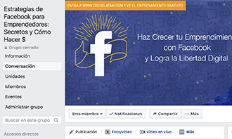 Grupo Privado en Facebook