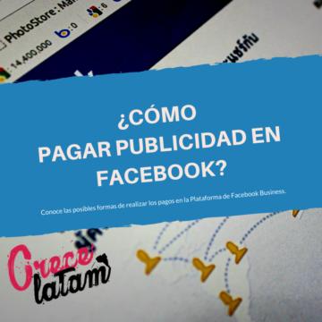 Como Pagar publicidad en facebook